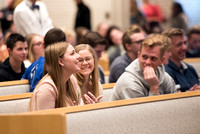 "BYU-Idaho Students at the forum ""Beyond the Major: How to Get the Most Out of College"". Speaker Dr. Scott Sprenger, Dean of the Weber State University College of Arts & Humanities. Oct 2017"