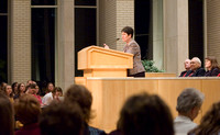 Sister Perry giving a talk 2006