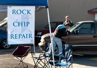 Windshield Warriors Rock Chip Repair was ran by IBC students David Leighton and Chad Fenton.