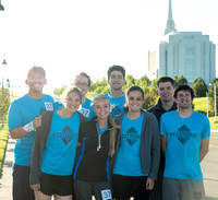 2017 Temple to Temple relay from Rexburg Temple to Idaho Falls Temple.