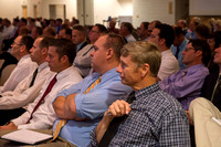 Faculty meeting to kick off the start of Fall semester.