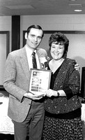 Award recipient. Faculty James Greene. March 1988