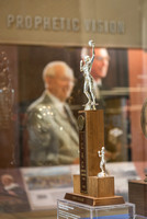 Legacy Hall is a great place to see trophies from Rick's College and learn more about the school's history.