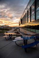 The Science & Technology Center at sunset.