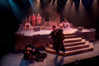 Rosencrantz and Guildenstern are Dead, a theater production written by Tom Stoppard and directed by Trevor Hill, was performed in the Eliza R. Snow Building Blackbox Theater.