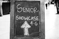 Communication Major Seniors present their original projects at the Communication Senior Showcase.