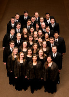 BYU-Idaho Collegiate Singers, directed by Randall Kempton. Tour group photo. 2017