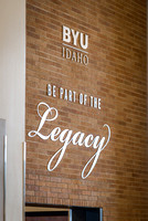 The legacy sign in Legacy Hall.