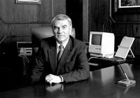 1988 - Ricks College President Joe J. Christensen