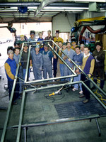 Welding Department Student 0ct 2000