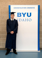 Pathway graduates gather in the BYU-Idaho Center for graduation. Dec 2017