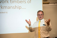 University Relations Personal Development; Jeff Dunster shares his work of curious workmanship.