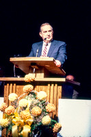 Elder Richard G. Scott speaks to students at Ricks College during devotional