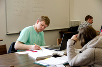 Students come to the Academic Support Center to receive help with homework.