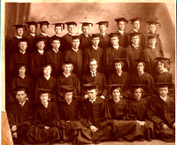 Ricks College Graduating Class Early 1900's