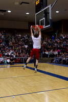 The infamous Slam Dunk Contest was held in the Hart Auditorium Friday night.