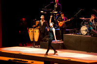 The Rhythmic Circus, an eclectic tap dancing and big band troupe with some beat-boxing, performed at Brigham Young University-Idaho.