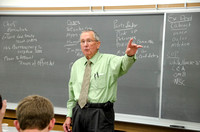 Bob Inama teaches an American Government class.