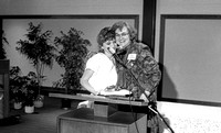 Award recipient. Faculty Mary Carolyn Pugmire Stoy. March 1988