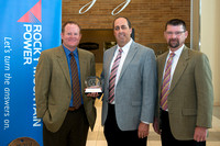 Rocky Mountain Power awards BYU-Idaho with the Watt Smart Award for being energy efficient.