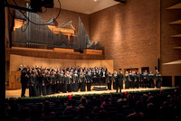 The Collegiate Singer, Concert Choir, and Baroque Ensemble join together for a Christmas Concert. 2017
