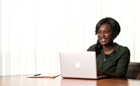 Pathway promo picture. Dora Engmann from Ghana.
