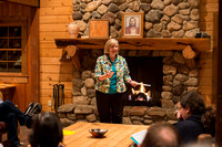 Retreat for teachers at the Sky Mountain Lodge in Victor, Idaho. Facilitator Robyn Bergstrom.
