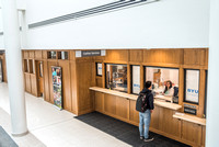 The view of the east side of the first floor in the Kimball Building, after the recent remodel.