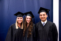 Graduation for the Winter 2017 semester at BYU-Idaho