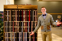 IBC group, Y Knot, Displays their ties and bowties at the I-Center