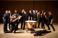 Percussion Ensemble directed by David Taylor