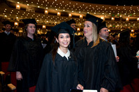 Brigham Young University-Idaho graduates at Commencement ceremony. Photo by Ryan Chase