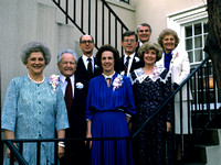 1988 Past Presidents & Wives