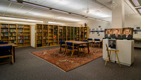 Special Collections Room in the David O. McKay Library