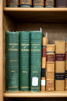 Special Collections houses many historic book collections. 2017