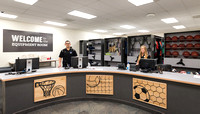 The Equipment Room in the Hart Building. 2018