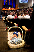 Even the youngest of BYU-I come to here the voice of an apostle.